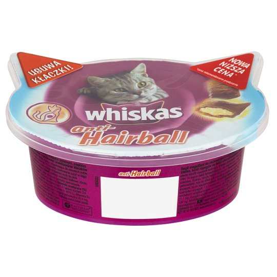 Whiskas Anti-Hairball Supplementary Food for Cats 50 g