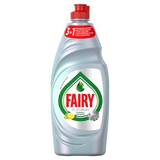 Fairy Platinum Washing Up Liquid Lemon & Lime 650ml