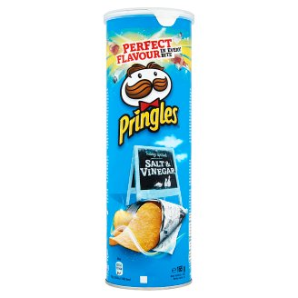 Pringles Salt & Vinegar Snack 165 g