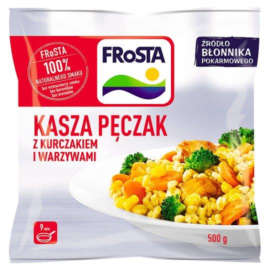 FRoSTA Kasza pęczak z kurczakiem i warzywami 500 g