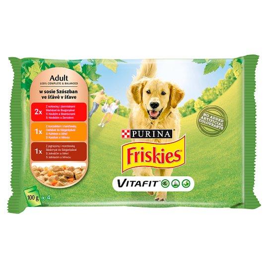 Friskies Vitafit Adult Karma dla psów 400 g (4 x 100 g)