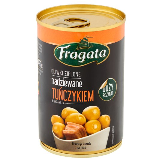 Fragata Green Olives Stuffed with Tuna 300 g