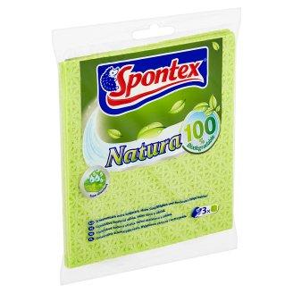 Spontex Natura Universal Sponge Cloths 3 Pieces