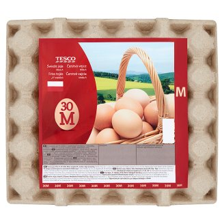 Tesco Fresh Eggs M 30 Pieces