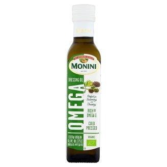 Monini Extra Virgin Olive Oil Canola Oil and Flax Oil 250 ml