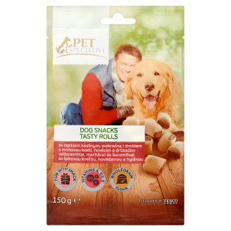 Tesco Pet Specialist Supplementary Food for Adult Dogs Cookies with Bone Marrow 150 g