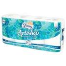 Foxy Artistico Natural White Toilet Paper 8 Rolls