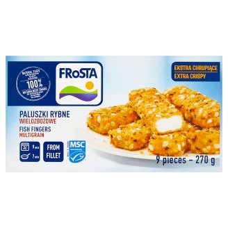 FRoSTA Fish Fingers Multigrain from Fillet 270 g (9 Pieces)