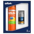 Gillette Fusion5 Sensitive Zestaw: Żel do golenia + balsam po goleniu