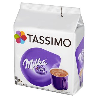 Tassimo Milka Cocoa Drink with Sugar and Milk 240 g (8 Capsules)