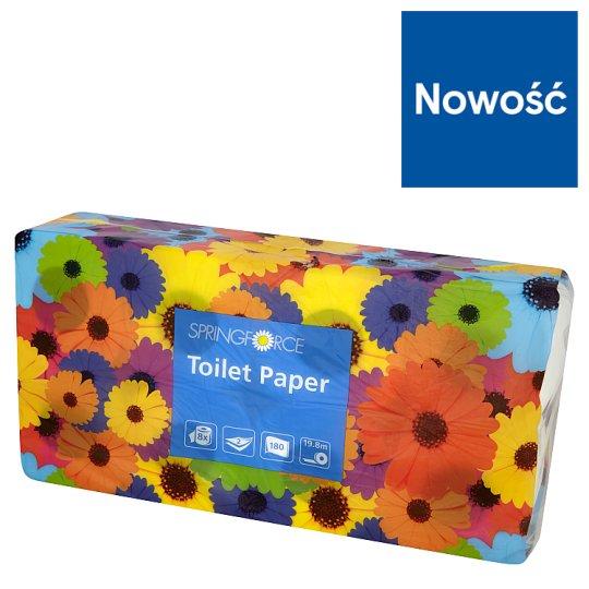 Springforce Papier toaletowy dwuwarstwowy 8 rolek