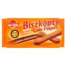 San Pajda Biszkopty Lady Fingers o smaku kakaowym 150 g