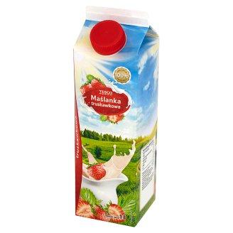 Tescio Strawberry Buttermilk 1 L