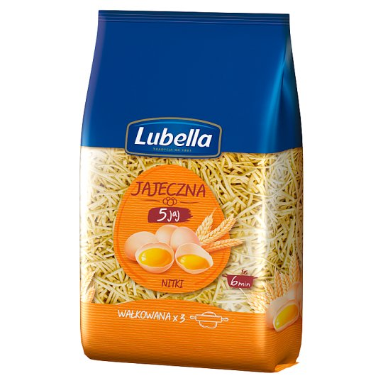 Lubella Jajeczna 5 jaj Filini Pasta 400 g