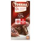 Torras Dark Chocolate Sugars Free 75 g