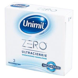 Unimil Zero Condoms 3 Pieces