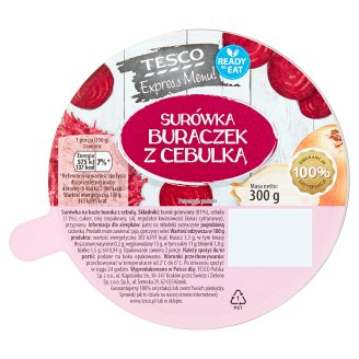 Tesco Express Menu! Beetroot with Onion Salad 300 g