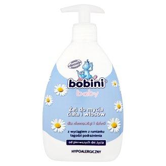 Bobini Baby Żel do mycia ciała i włosów dla niemowląt i dzieci 400 ml