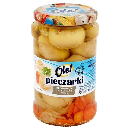 Ole! Pieczarki marynowane z marchewką i cebulą 765 g