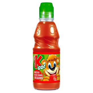 Kubuś Go! Carrot Apple Banana and Strawberry Juice 300 ml