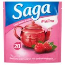 Saga Raspberry Flavour Fruit Tea 34 g (20 Tea Bags)