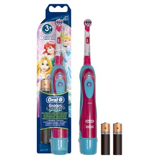 Oral-B Stages Power Kids Battery Toothbrush Featuring Disney Characters