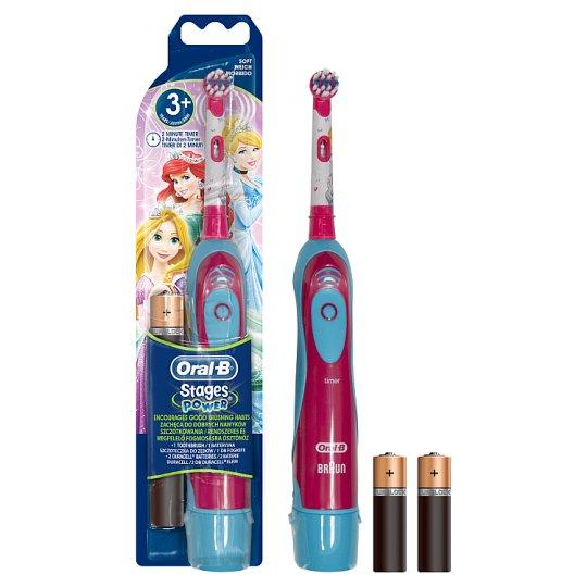 Oral-B Stages Power Kids Szczoteczka do zębów zasilana bateryjnie zpostaciami zfilmów Disneya