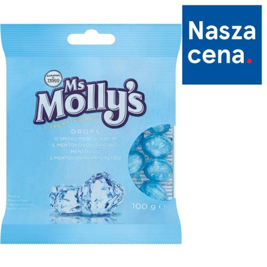 Ms Molly's Drops o smaku mentolowym 100 g