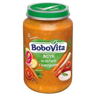 BoboVita Turkey in Herbs with Vegetables after 9 Months Onwards 190 g