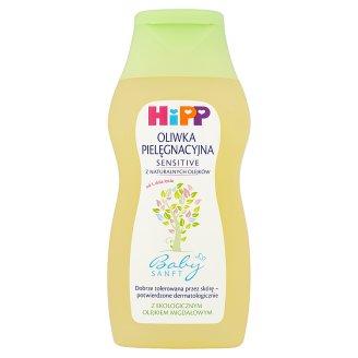 HiPP Babysanft Sensitive Oliwka pielęgnacyjna dla niemowląt od 1. dnia życia 200 ml