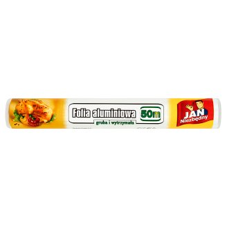 Jan Niezbędny Aluminum Kitchen Foil 50 m