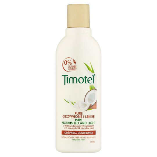Timotei Pure Nourished and Light Conditioner 200 ml