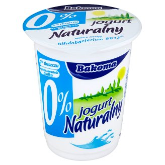 Bakoma Natural Yoghurt 0% 350 g