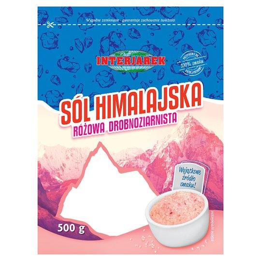 Interjarek Pink Fine Grained Himalayan Salt 500 g