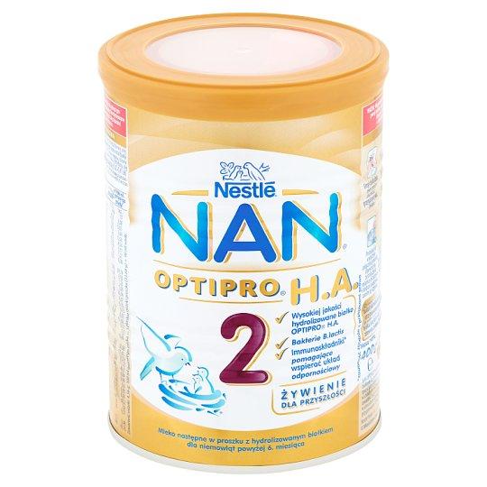 NAN OPTIPRO H A  2 Powdered Milk for Newborns after 6  Months Onwards 400 g