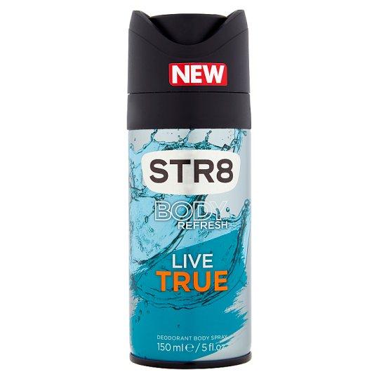 STR8 Body Refresh Live True Deodorant Body Spray 150 ml
