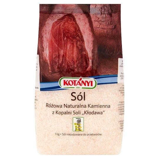Kotányi Salt Stone Natural Pink from Kłodawa Mine 1 kg