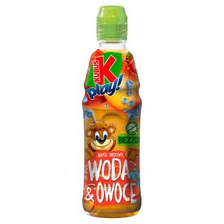 Kubuś play! Water & Fruit Drink 400 ml