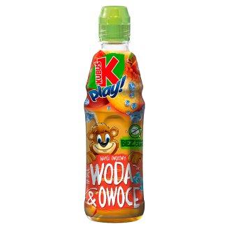 Kubuś Play! Napój owocowy woda i owoce jabłko brzoskwinia 400 ml