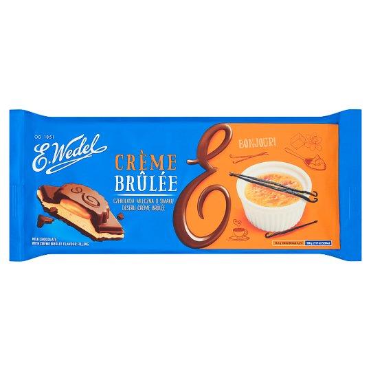 E. Wedel Crème Brûlée Flavoured Milk Chocolate 289 g