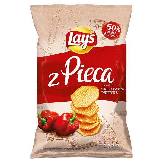 Lay's z Pieca Grilled Pepper Baked Potato Crisps 130 g