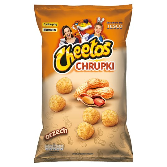 Cheetos Peanut Flavour Corn Snacks 170 g
