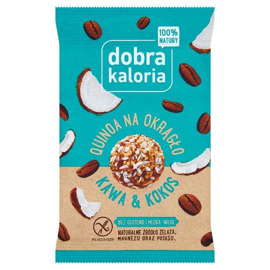 Dobra Kaloria Quinoa na okrągło kawa & kokos 24 g - Tesco..