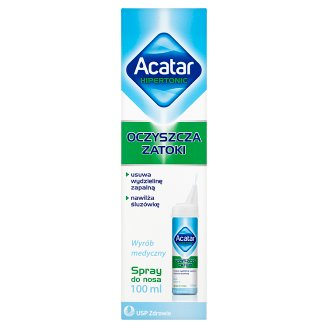 Acatar Hipertonic Spray do nosa wyrób medyczny 100 ml