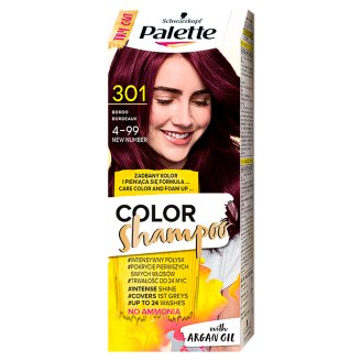 Palette Color Shampoo Szampon koloryzujący Bordo 301