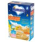 Humana Kaszka mleczna na dobranoc bananowa z pełnoziarnistych zbóż po 6. miesiącu 200 g