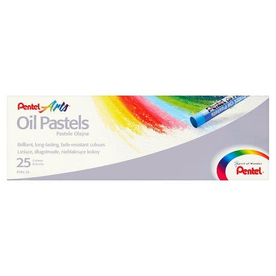 Pentel Arts Oil Pastels 25 Colours