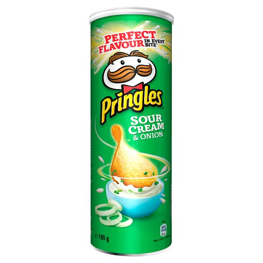 Pringles Sour Cream & Onion Chrupki 165 g