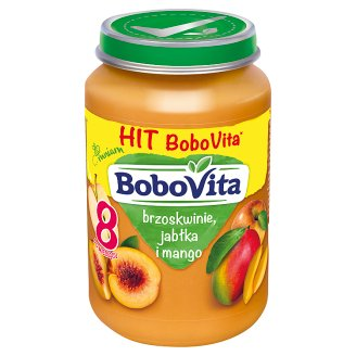 BoboVita Peaches Apples and Mango after 8 Months Onwards 190 g