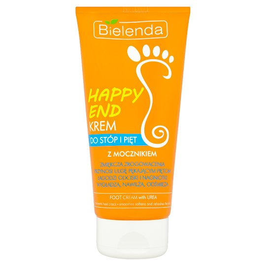 Bielenda Happy End Krem do stóp i pięt z mocznikiem 125 ml